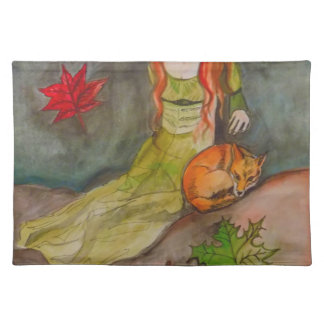 Lady and The Fox Placemat