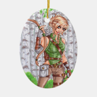 Lady Archer Ornament