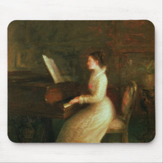 Lady at the Piano Mouse Pad