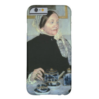Lady at the Tea Table, 1885 (oil on canvas) Barely There iPhone 6 Case