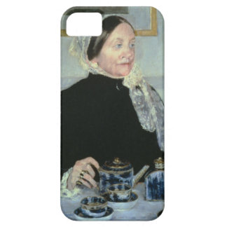 Lady at the Tea Table, 1885 (oil on canvas) iPhone 5 Cover