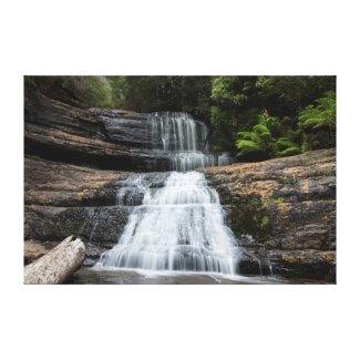 Lady Barron Falls, Tasmania Canvas Print