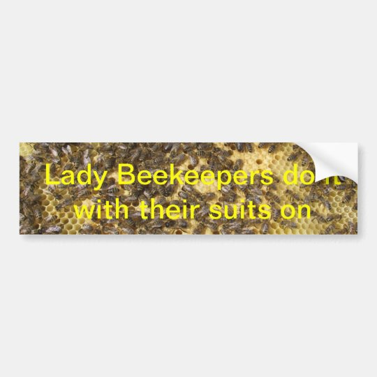 Lady bee keepers do it with their suits