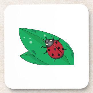 Lady Beetle Drink Coasters
