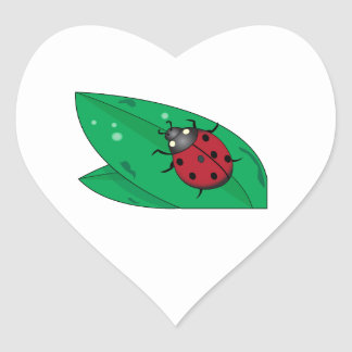 Lady Beetle Stickers