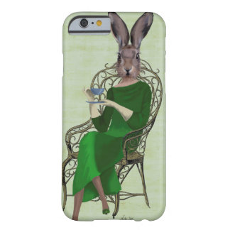 Lady Bella Rabbit Taking Tea 3 Barely There iPhone 6 Case
