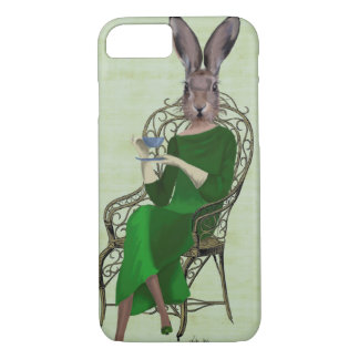 Lady Bella Rabbit Taking Tea 3 iPhone 8/7 Case
