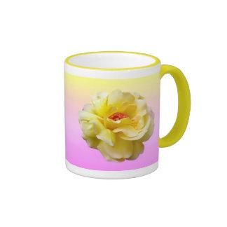 Lady Boo Yellow Rose Mug