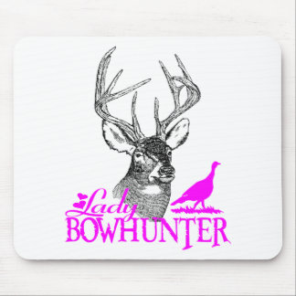 LADY BOWHUNTER DEER & TURKEY MOUSE PADS