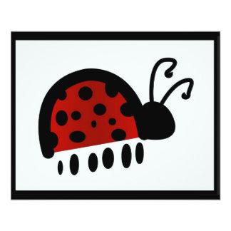 Lady bug 11.5 cm x 14 cm flyer
