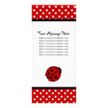 Lady Bug and Polka Dots Rack Cards