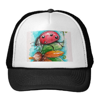 Lady Bug Baseball Cap Mesh Hats