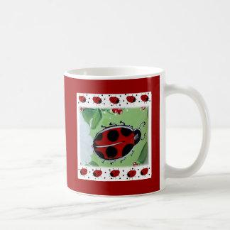 Lady-Bug Basic White Mug