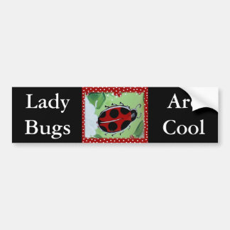 Lady Bug Bumper Sticker