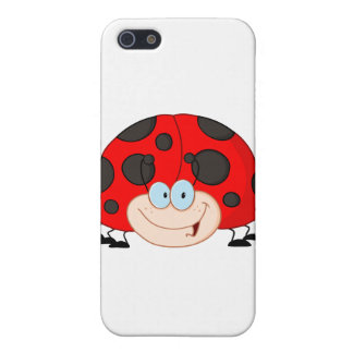 Lady Bug Cartoon Character iPhone 5/5S Case