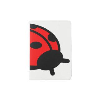 Lady Bug Custom Passport Holder