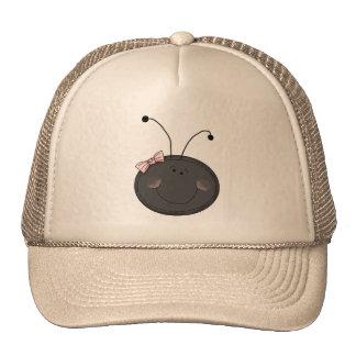 Lady Bug Face Cap