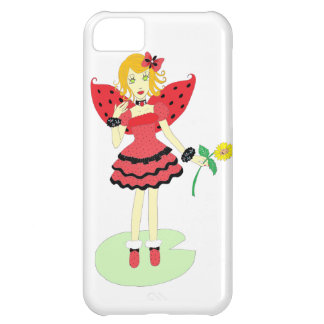 Lady Bug Fairy Case For iPhone 5C