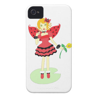 Lady Bug Fairy iPhone 4 Cover