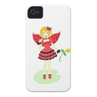 Lady Bug Fairy iPhone 4 Case-Mate Case