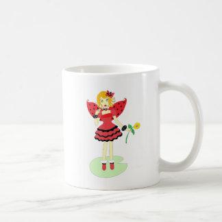 Lady Bug Fairy Coffee Mug