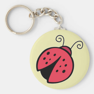 Lady Bug - Good Luck Insect Bugs Keychain