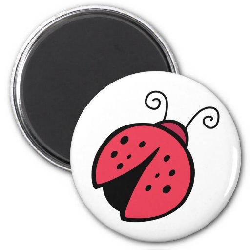 Lady Bug - Good Luck Insect Bugs Magnet