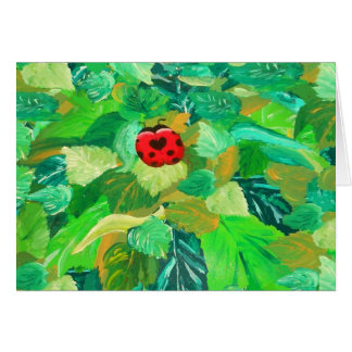 Lady Bug - Greeting Card