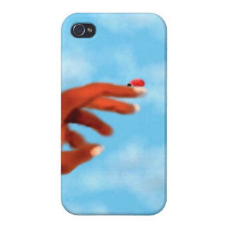 Lady bug  Iphone Case iPhone 4 Cover