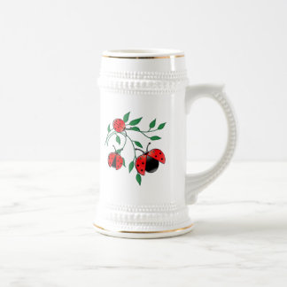 Lady Bug, Lady Bugs Fly Away Home Beer Stein