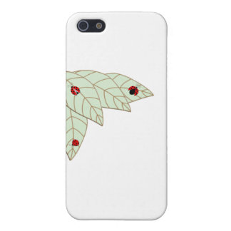 Lady Bug Leaves iPhone 5 Covers