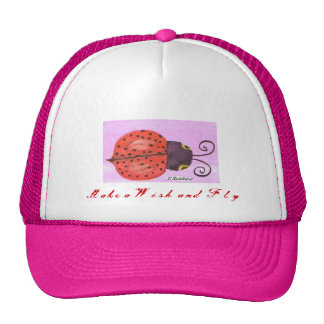 Lady Bug  Make a Wish and Fly Cap