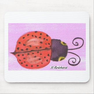 Lady Bug - Make a Wish Mousepads