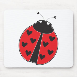 Lady Bug Mouse Pads