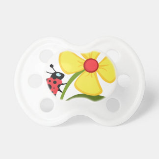 Lady Bug on Yellow Flower Dummy