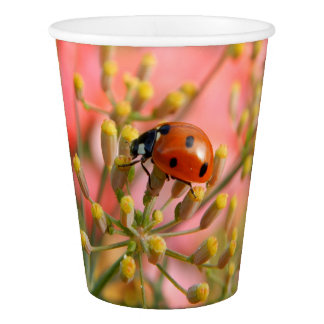 Lady Bug Paper Cup