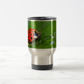 Lady Bug Stainless Steel Travel Mug