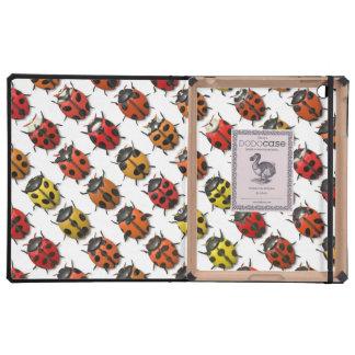 Lady Bugs 1 DODO iPad Folio Cases iPad Cases