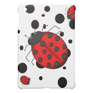 Lady Bugs and Spots Everywhere iPad Mini Covers