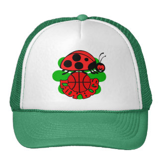 Lady Bugs Basketball Cap