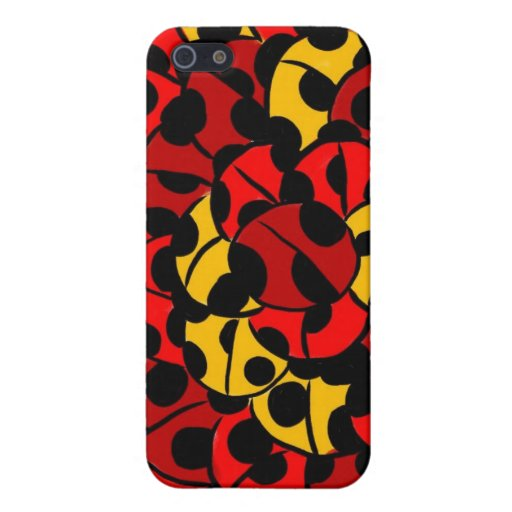 lady bugs cover for iPhone 5