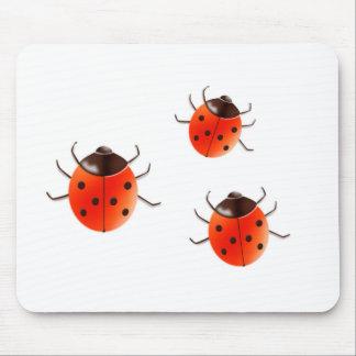 Lady Bugs Mousepads