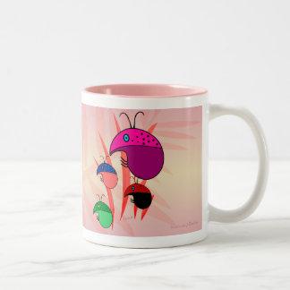 Lady Bugs Two-Tone Mug