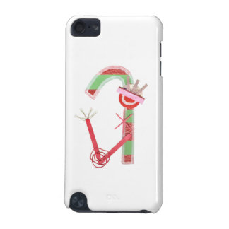 Lady Candy Cane 5th Generation I-Pod Touch iPod Touch (5th Generation) Covers