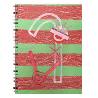 Lady Candy Cane Notebook