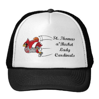 Lady Cardinals baseball cap Mesh Hat