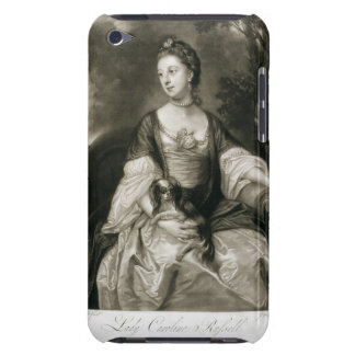 Lady Caroline Russell, engraved by James McArdell Barely There iPod Case