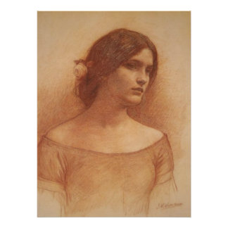 Lady Clare Canvas Print