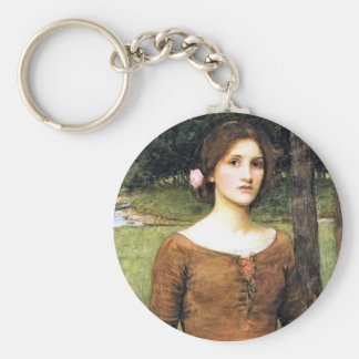 Lady Clare with a Fawn Key Ring