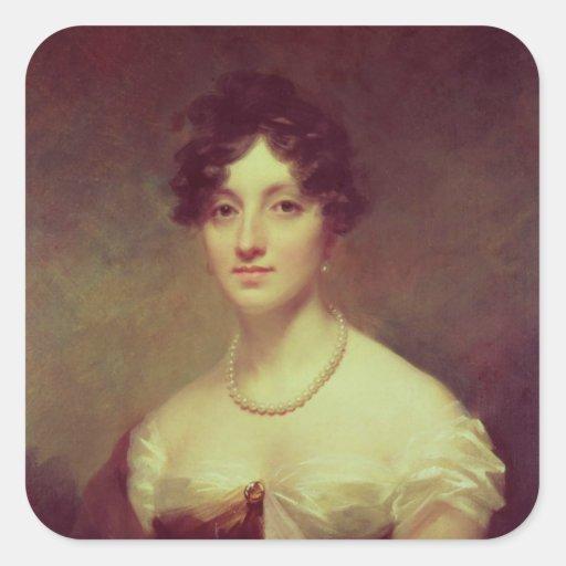 Lady Colville Square Sticker
